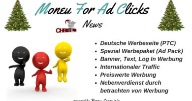 Weihnachtsangebot - Money For Ad Clicks