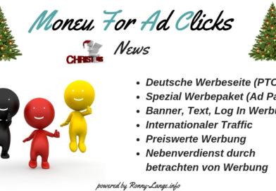 Weihnachtsangebot - Money For Ad Clicks